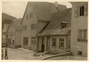 1934 Bau Wohn- und Geschäftshaus
